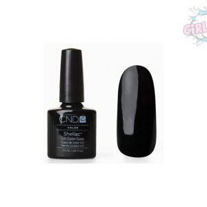 Гель лак CND Shellac Black Pool (черный)